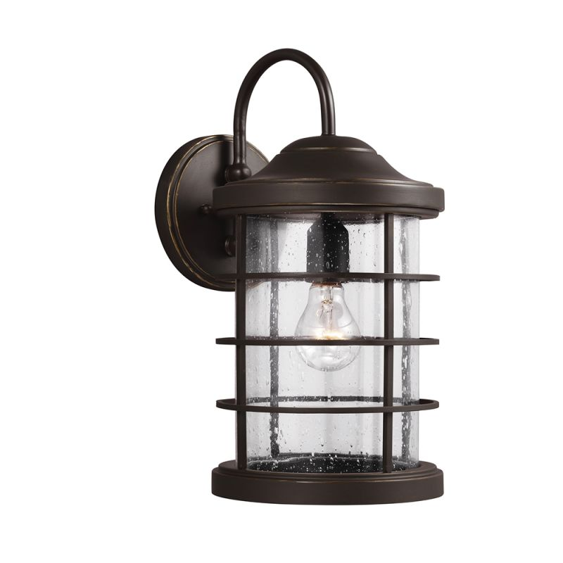 Sea Gull Lighting 8624401 Sauganash 1 Light Outdoor Wall Sconce Sale $231.70 ITEM: bci2350046 ID#:8624401-71 UPC: 785652246043 :