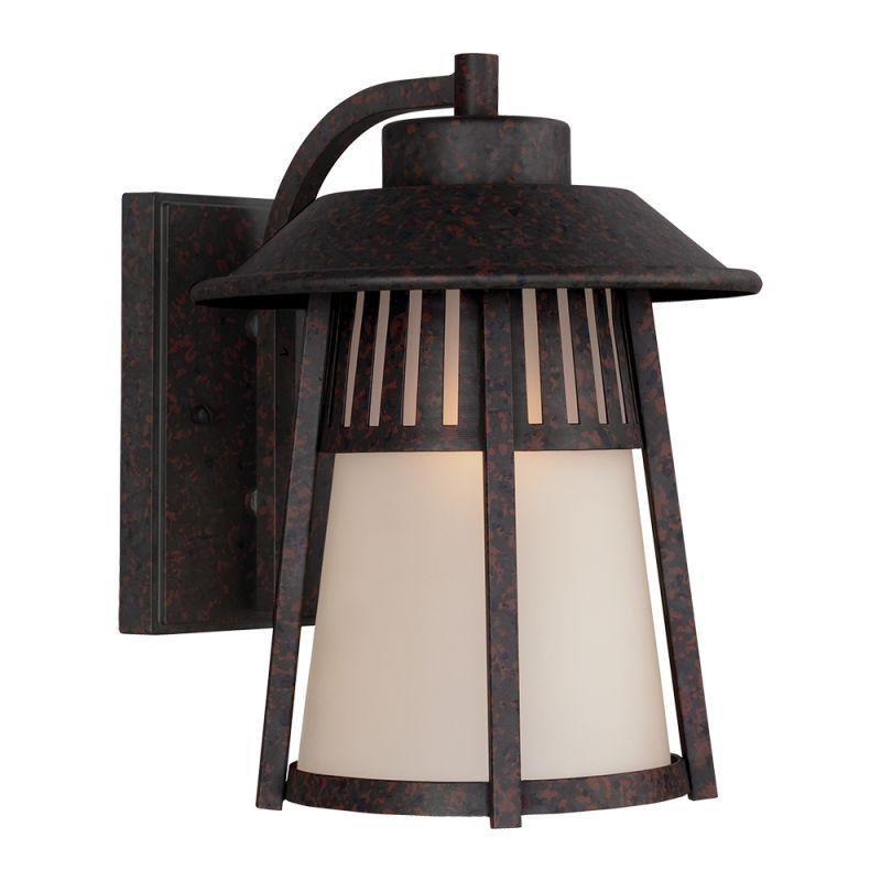 "Sea Gull Lighting 8711701 Hamilton Heights 1 Light 9"" Wide Reversible"
