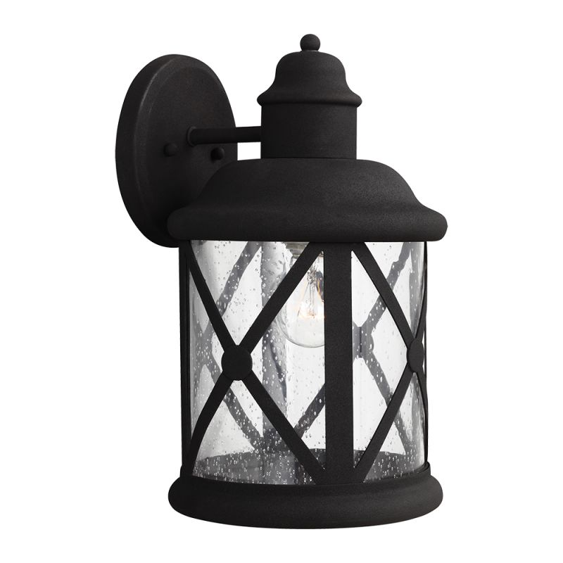 "Sea Gull Lighting 8721401 Lakeview 1 Light 8.375"" Wide Outdoor Lantern"