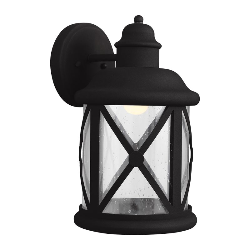 "Sea Gull Lighting 8721492S Lakeview LED 8.375"" Wide Outdoor Lantern"