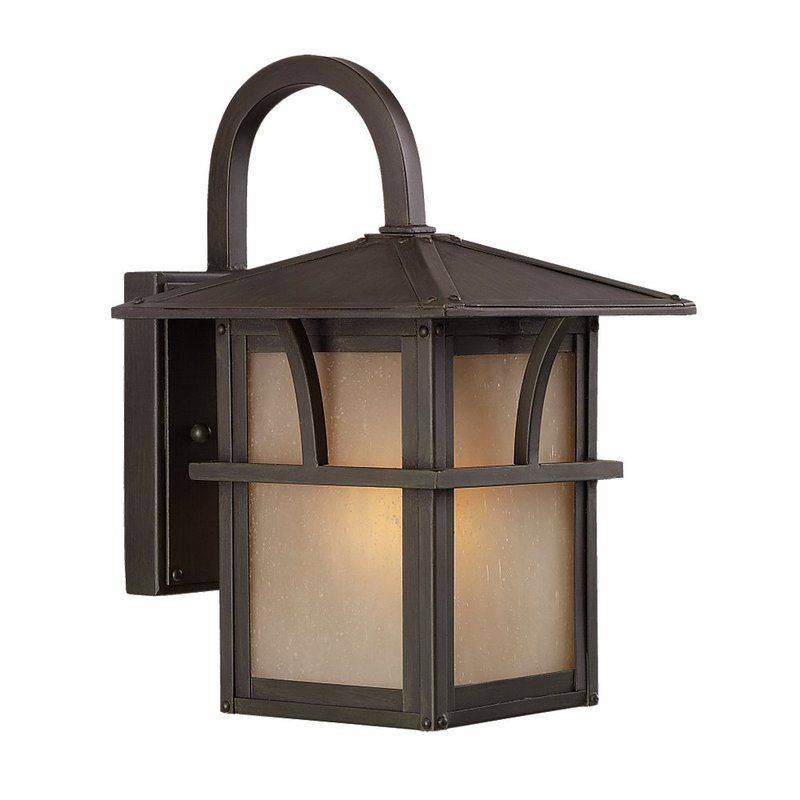 Sea Gull Lighting 88880BLE Medford Lakes 1 Light Outdoor Lantern Wall