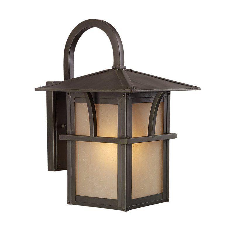 Sea Gull Lighting 88881BLE Medford Lakes 1 Light Outdoor Lantern Wall