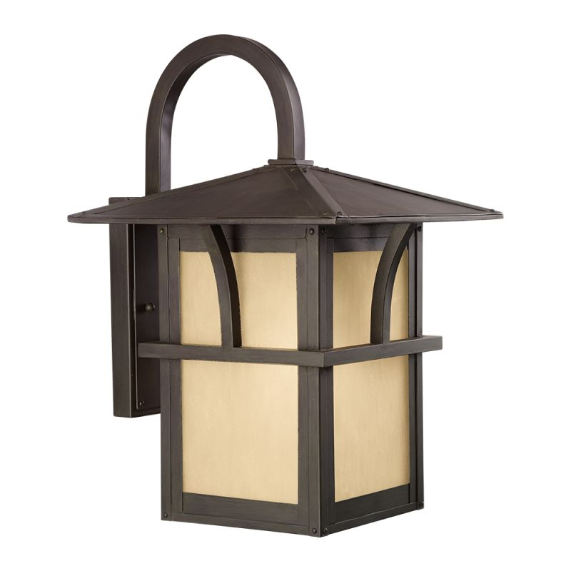 "Sea Gull Lighting 8888291S Medford Lakes LED 11"" Wide Outdoor Lantern"