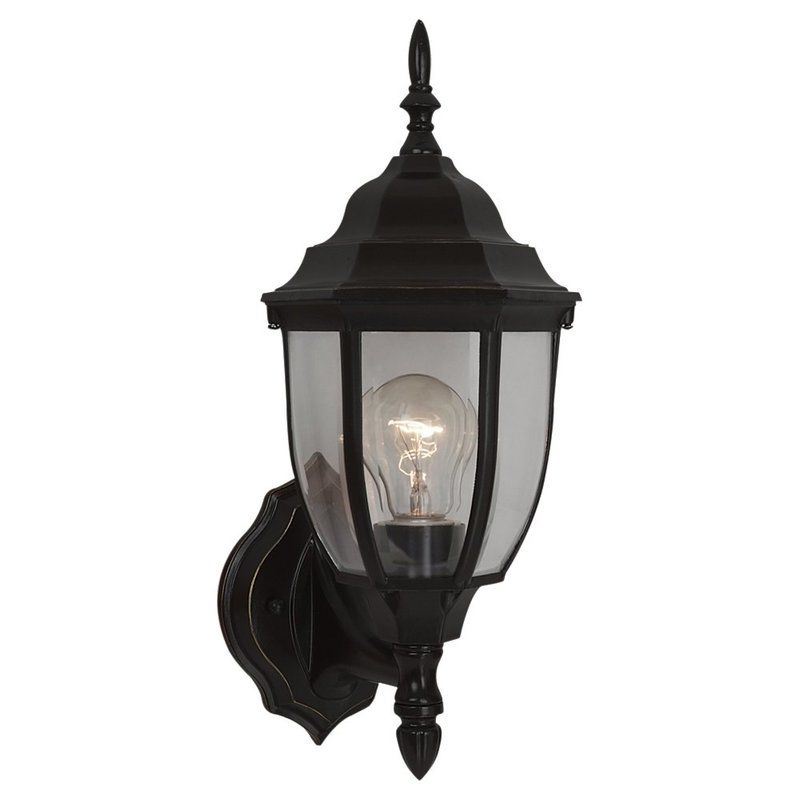 Sea Gull Lighting 88940 Bakersville 1 Light Outdoor Lantern Wall