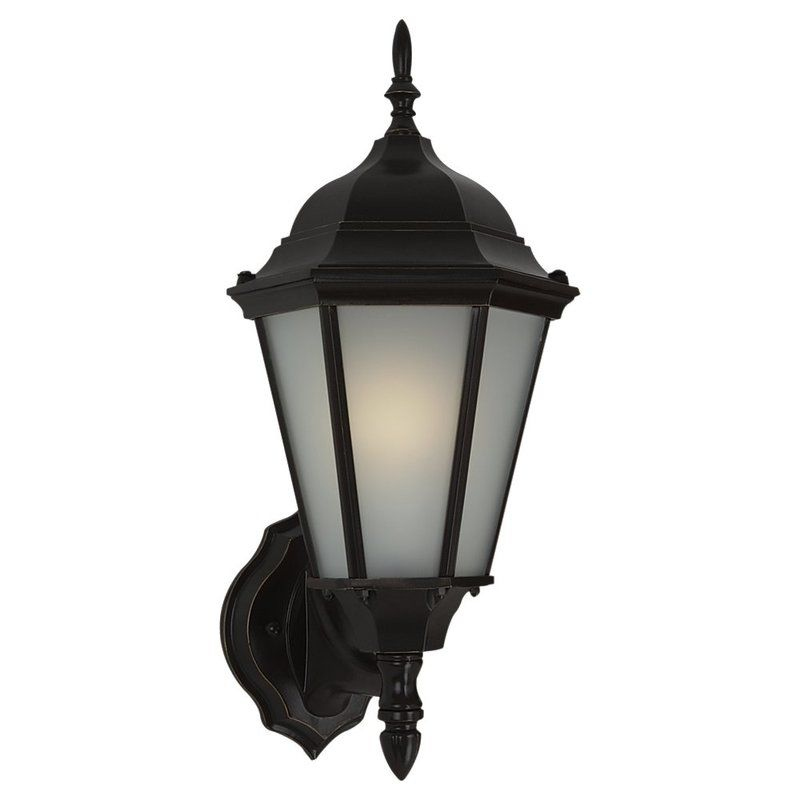 Sea Gull Lighting 88941BL Bakersville 1 Light Outdoor Lantern Wall