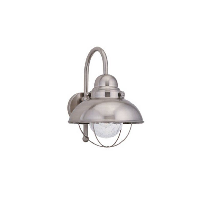 Sea Gull Lighting 89070BLE Sebring 1 Light Outdoor Barn Light Wall