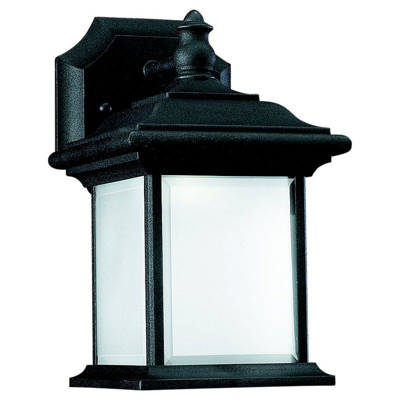 Sea Gull Lighting 89101BLE Wynfield 1 Light Outdoor Lantern Wall