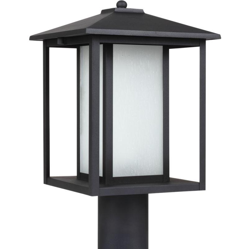 Sea Gull Lighting 89129BL Hunnington 1 Light Outdoor Lantern Post