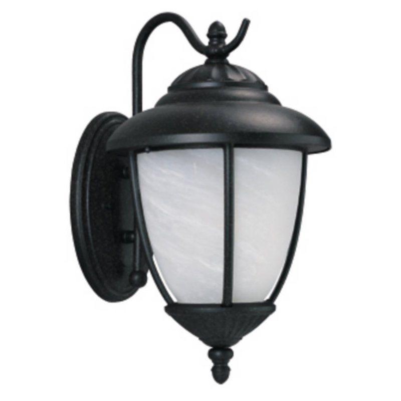 Sea Gull Lighting 89250BLE Yorktown 1 Light Outdoor Lantern Wall