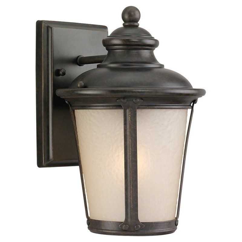 Sea Gull Lighting 89340BLE Cape May 1 Light Outdoor Lantern Wall