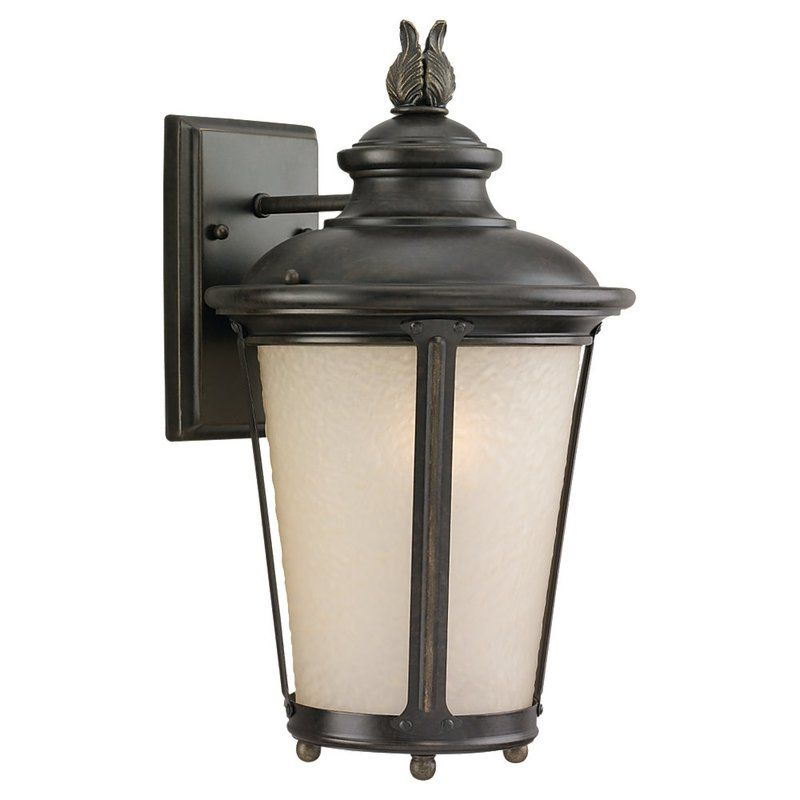 Sea Gull Lighting 89341BLE Cape May 1 Light Outdoor Lantern Wall