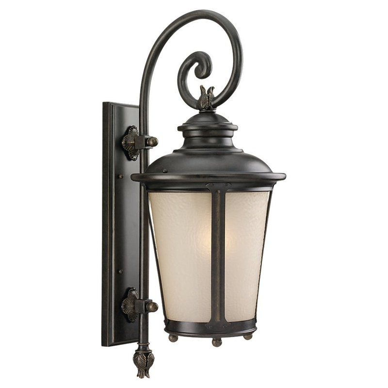 Sea Gull Lighting 89342BLE Cape May 1 Light Outdoor Lantern Wall