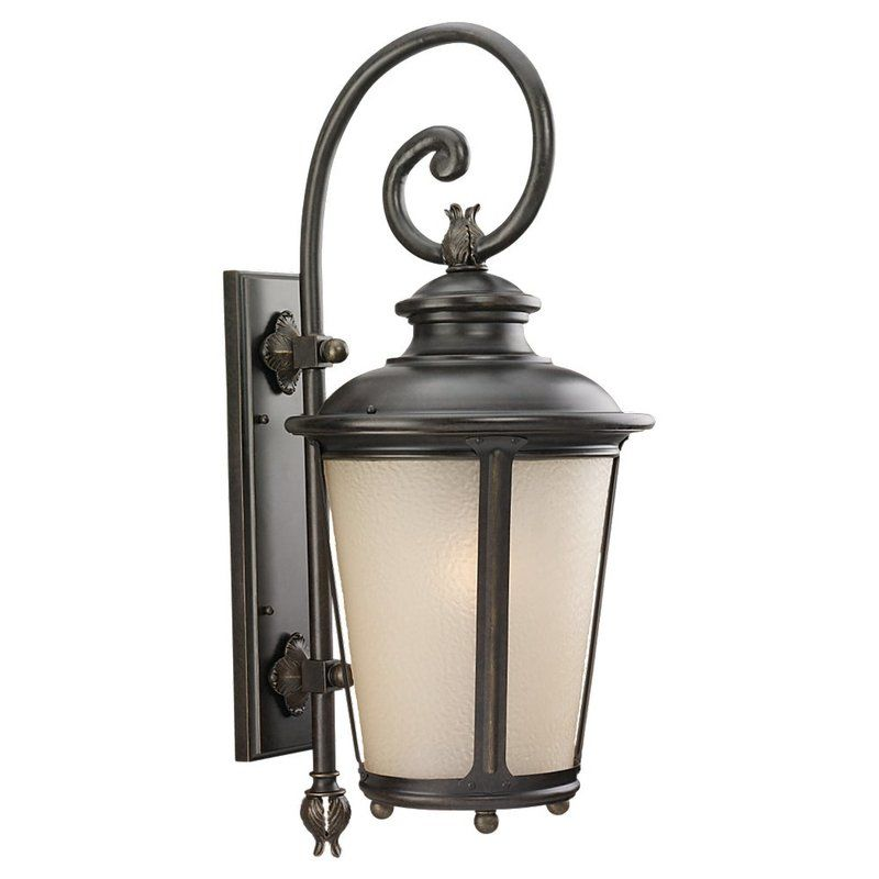 Sea Gull Lighting 89343BLE Cape May 1 Light Outdoor Lantern Wall