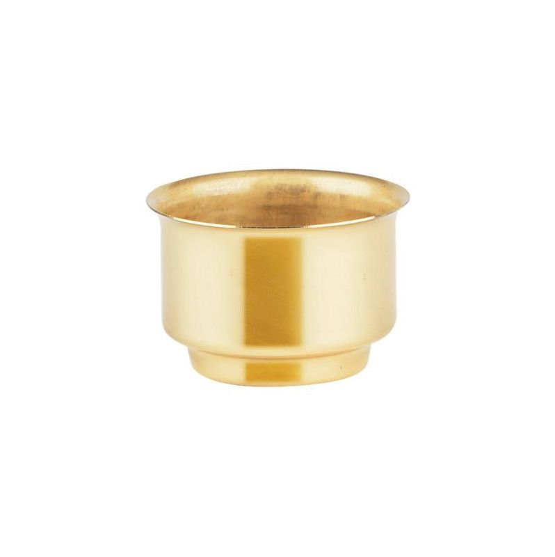 Sea Gull Lighting 9005 Glass Candle Cup Polished Brass Accessory Sale $7.00 ITEM: bci113150 ID#:9005-02 UPC: 785652090059 :