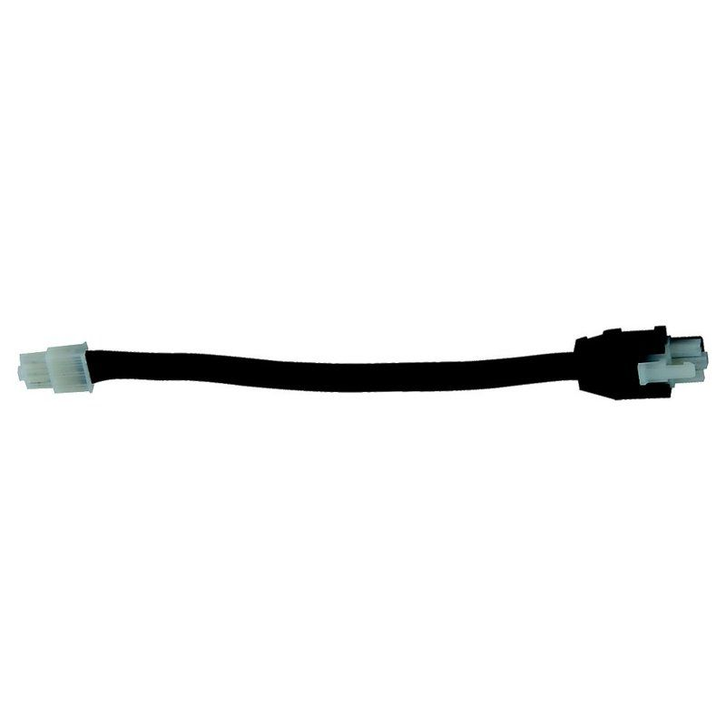 "Sea Gull Lighting 90843 12"" Undercabinet Connector Cord Black Indoor"