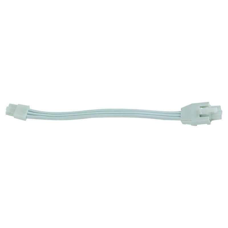 """Sea Gull Lighting 90843 12"""" Undercabinet Connector Cord White Indoor"""