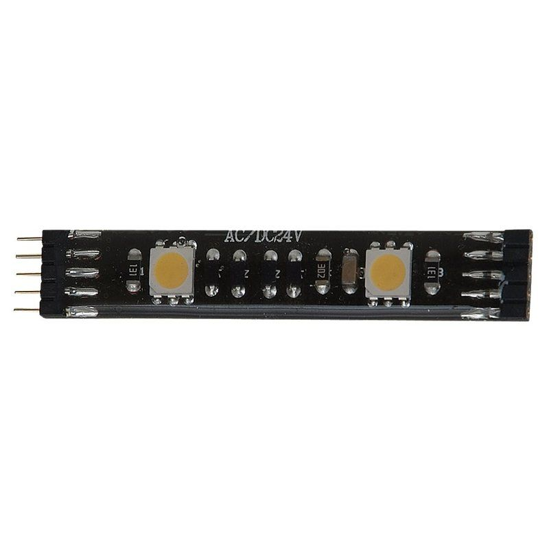 Sea Gull Lighting 98681SW 12V LED Under Cabinet Tape Lights Black