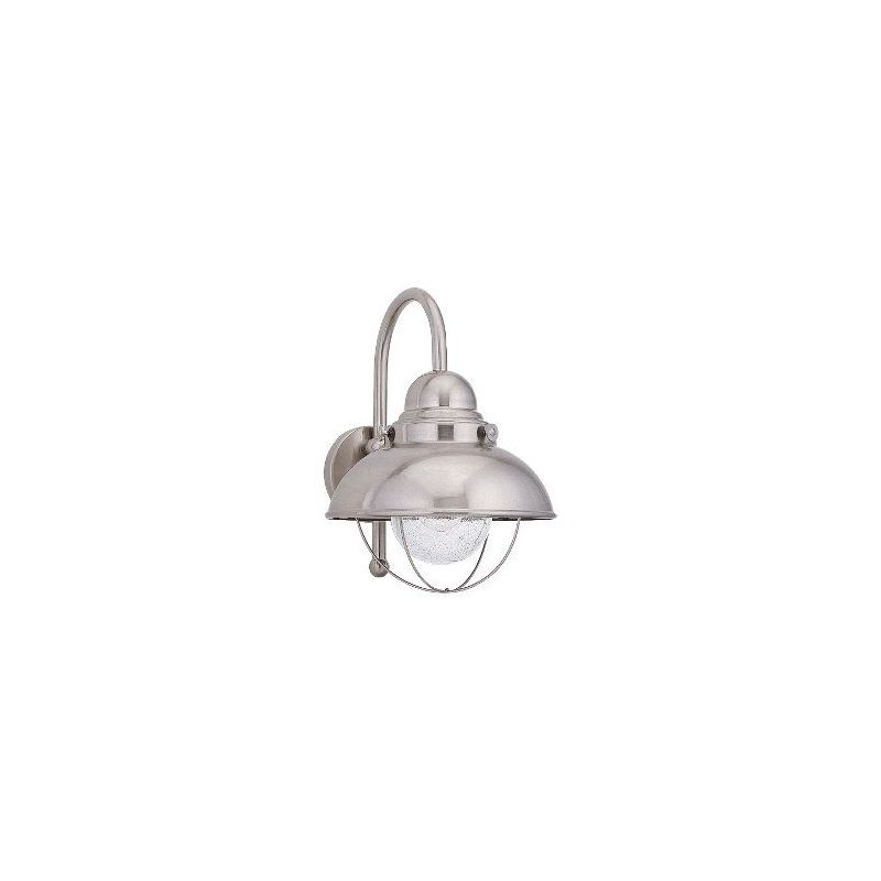 Sea Gull Lighting 8871 Sebring 1 Light Outdoor Barn Light Wall Sconce