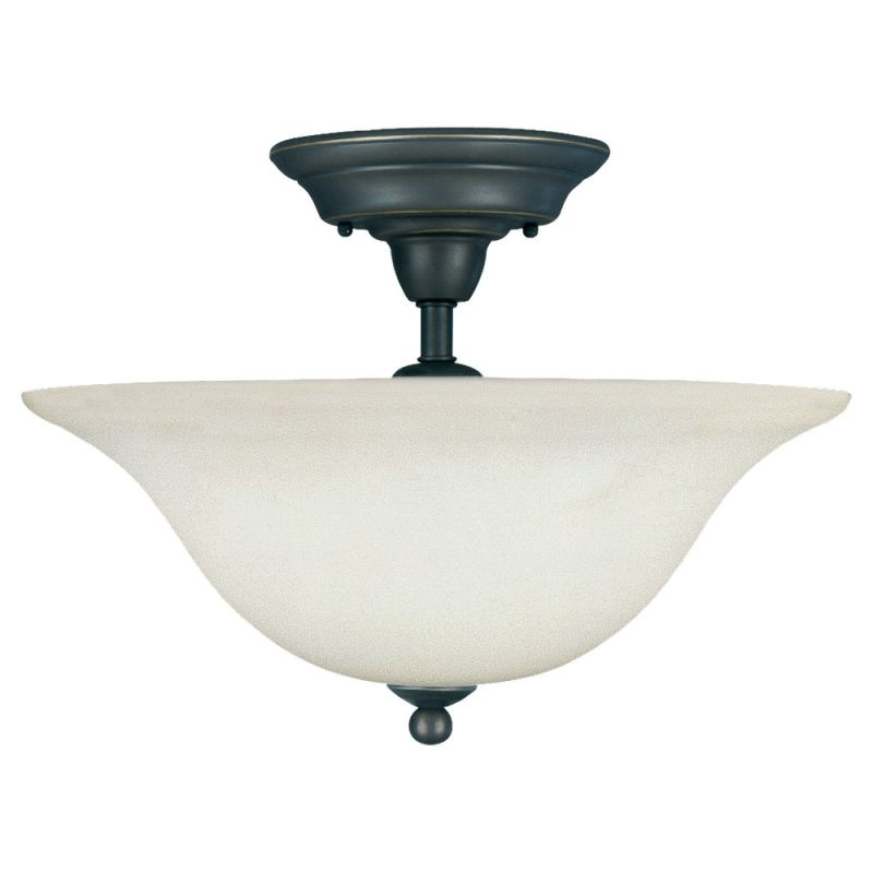 Sea Gull Lighting 75061 Sussex 3 Light Semi-Flush Ceiling Fixture Sale $104.60 ITEM: bci275583 ID#:75061-782 UPC: 785652750632 :