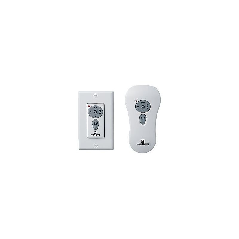 Sea Gull Lighting 16005 Remote Wall / Handheld Combo Control White