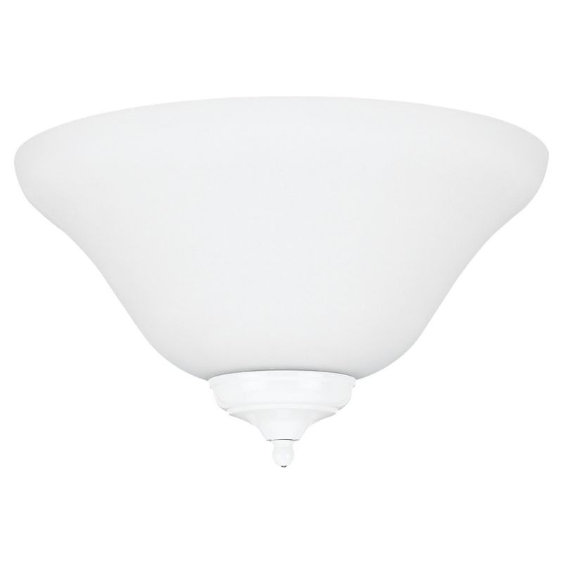 Sea Gull Lighting 16120B-33 Ceiling Fan Light Kit Satin White Ceiling