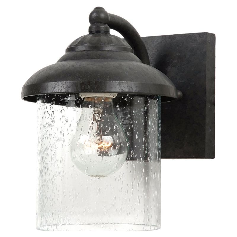Sea Gull Lighting 84068 Lambert Hill 1 Light Outdoor Lantern Wall