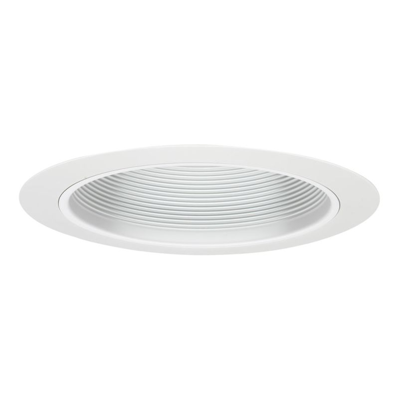 "Sea Gull Lighting 1126 Recessed Trims 6"" Baffle Trim White Recessed"