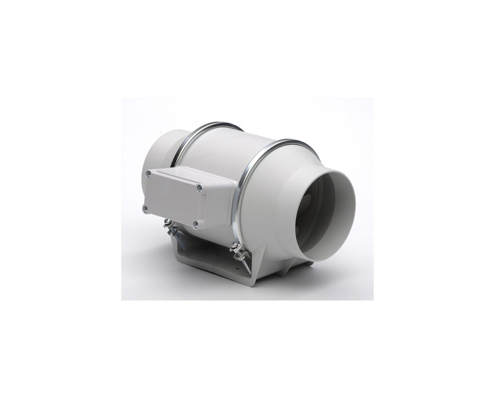 """Soler and Palau TD-125 5""""/125MM Inline Mixed Flow Duct Fan Off-White"""