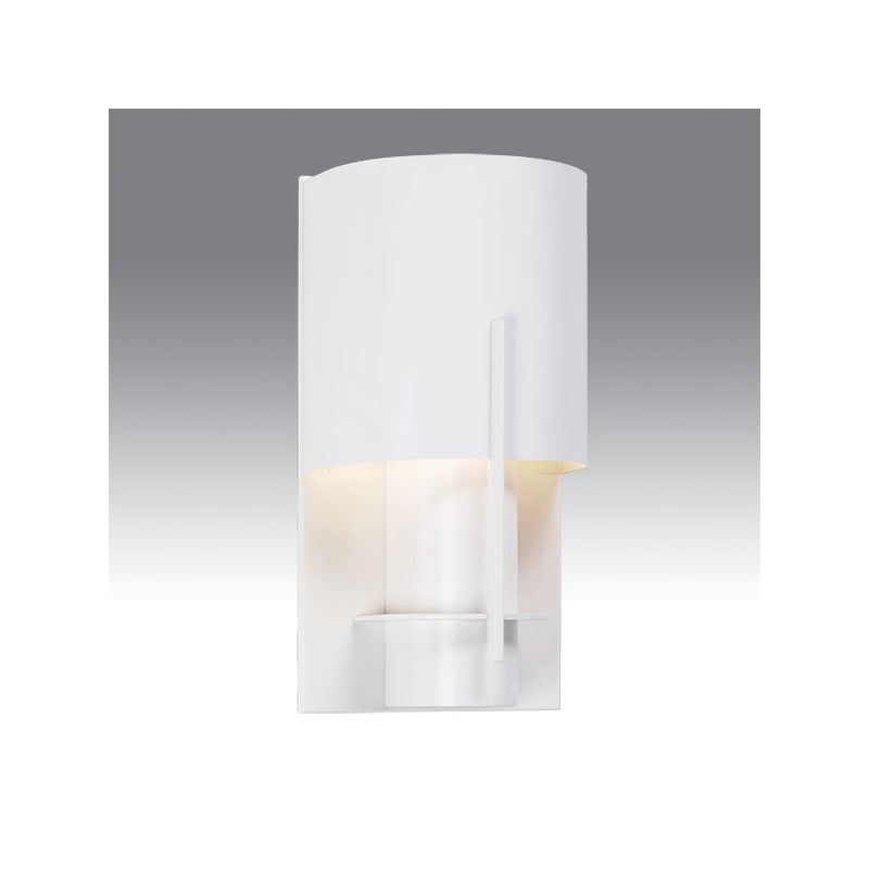 Sonneman 1710 Oberon 1 Light Modern CFL Wall Sconce with Half-Cylinder Sale $82.00 ITEM: bci1721224 ID#:1710.03LF UPC: 872681025203 :