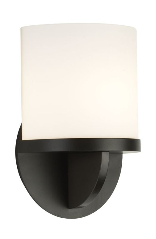 Sonneman 1720.32F Black Bronze Contemporary Ovulo Wall Sconce