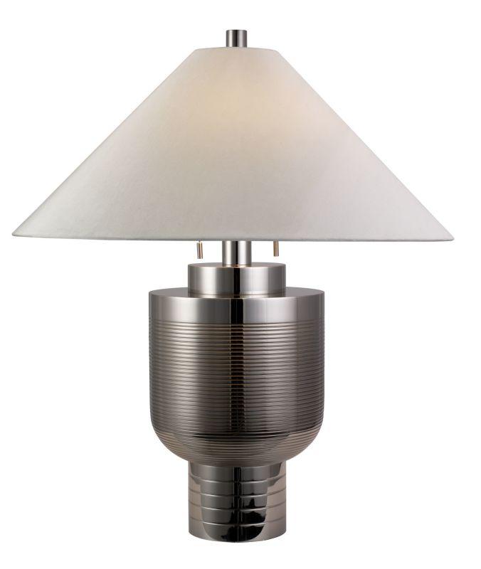"Sonneman 6108 Two Light 30.5"" Down Lighting Urn Table Lamp with Silk"