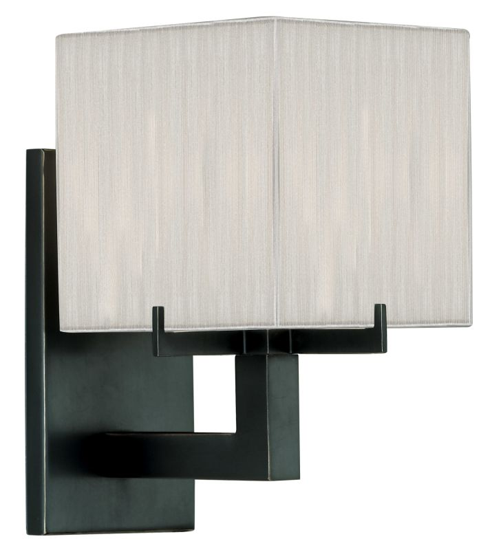 Sonneman 3352 Warm Contemporary Boxus Wall Sconce wih Shade Black Sale $79.00 ITEM: bci524174 ID#:3352.51 UPC: 872681004192 :