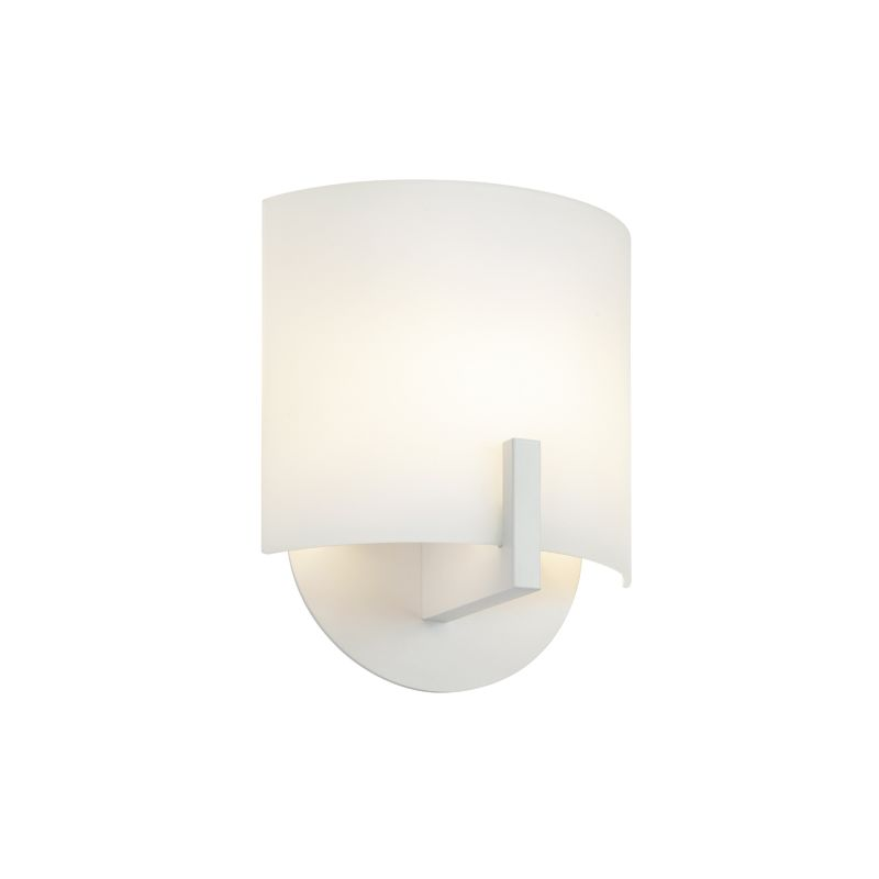 Sonneman 1727 Scudo 1 Light ADA Compliant LED Wall Sconce with Etched