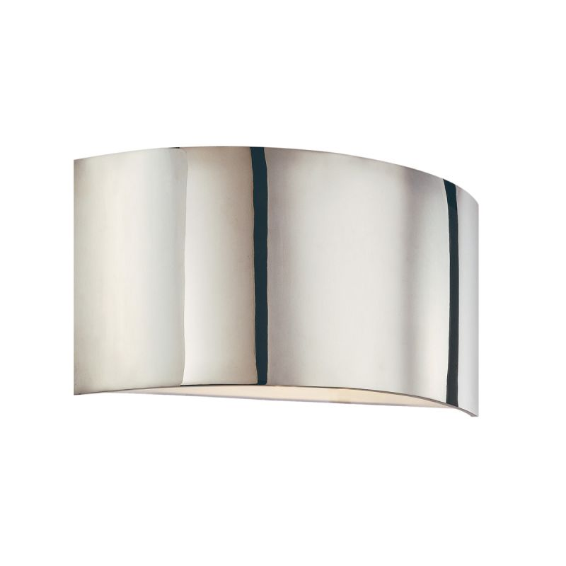 Sonneman 1880.35 Polished Nickel Contemporary Dianelli Wall Sconce