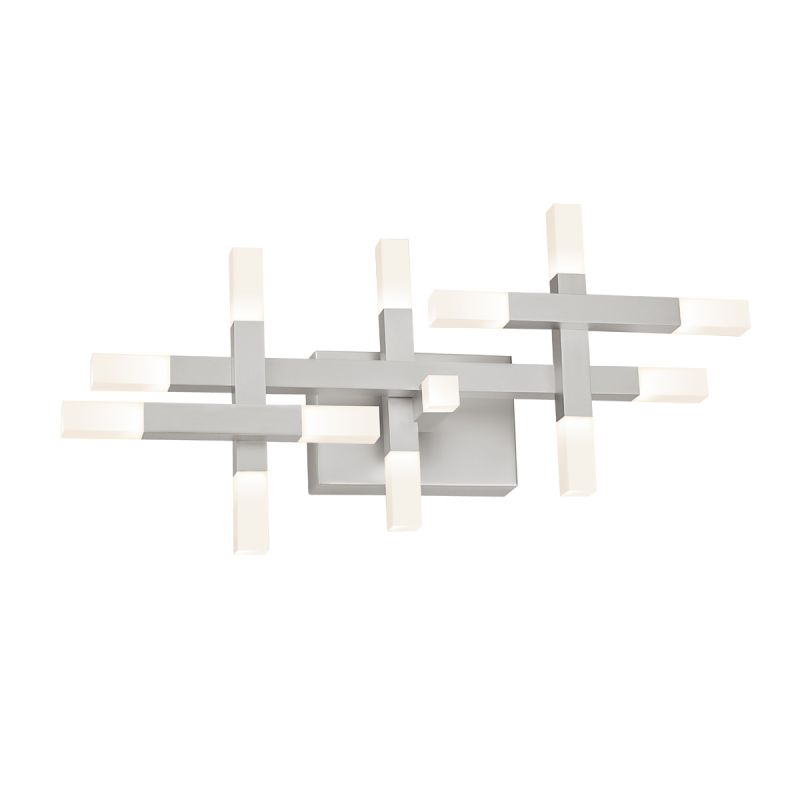 Sonneman 2111 Connetix 13 Light LED Wall Sconce with White Etched