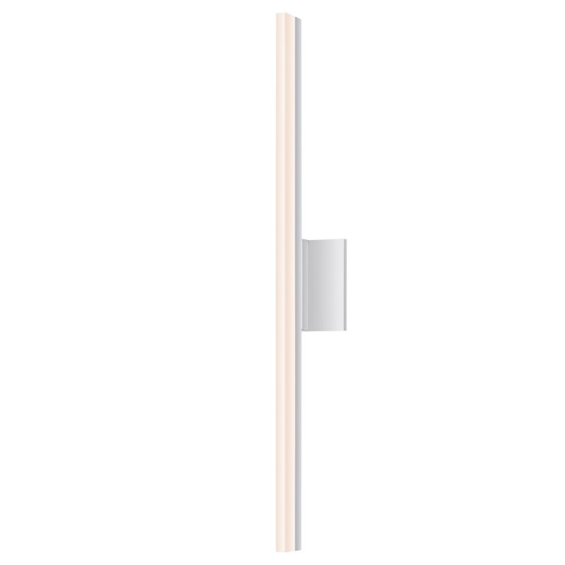 Sonneman 2342-DIM Stiletto 1 Light LED Bathroom Bath Bar Bright Satin