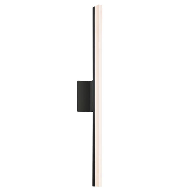Sonneman 2342-DIM Stiletto 1 Light LED Bathroom Bath Bar Satin Black