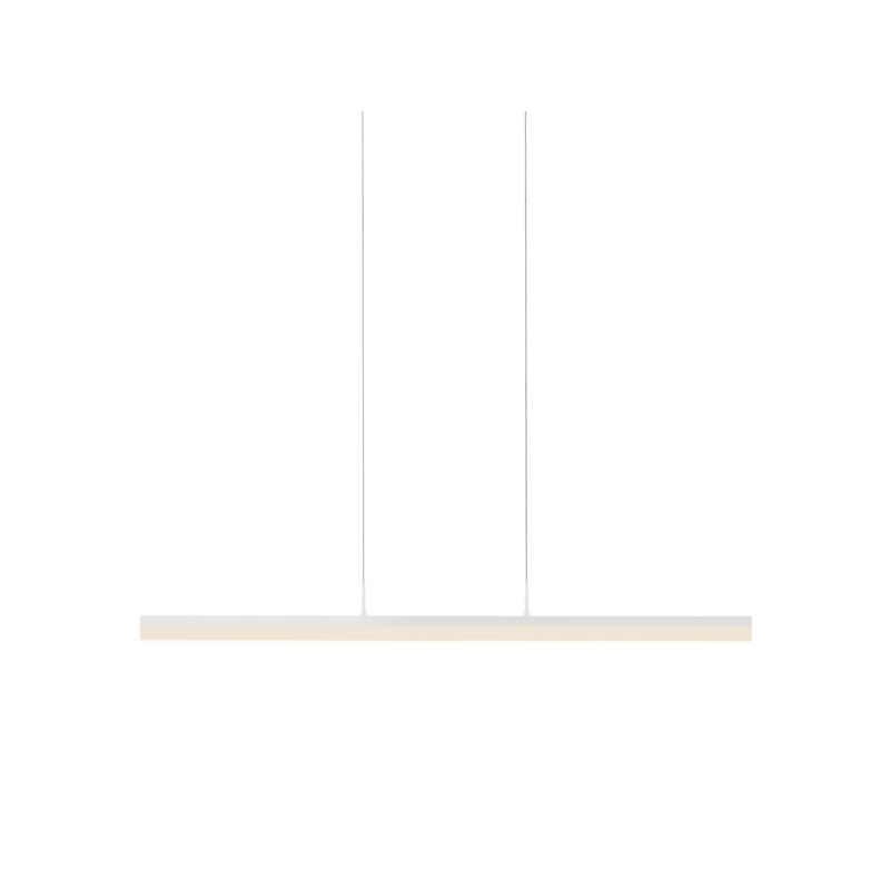 Sonneman 2347 Stiletto 1 Light LED Chandelier Satin White Indoor