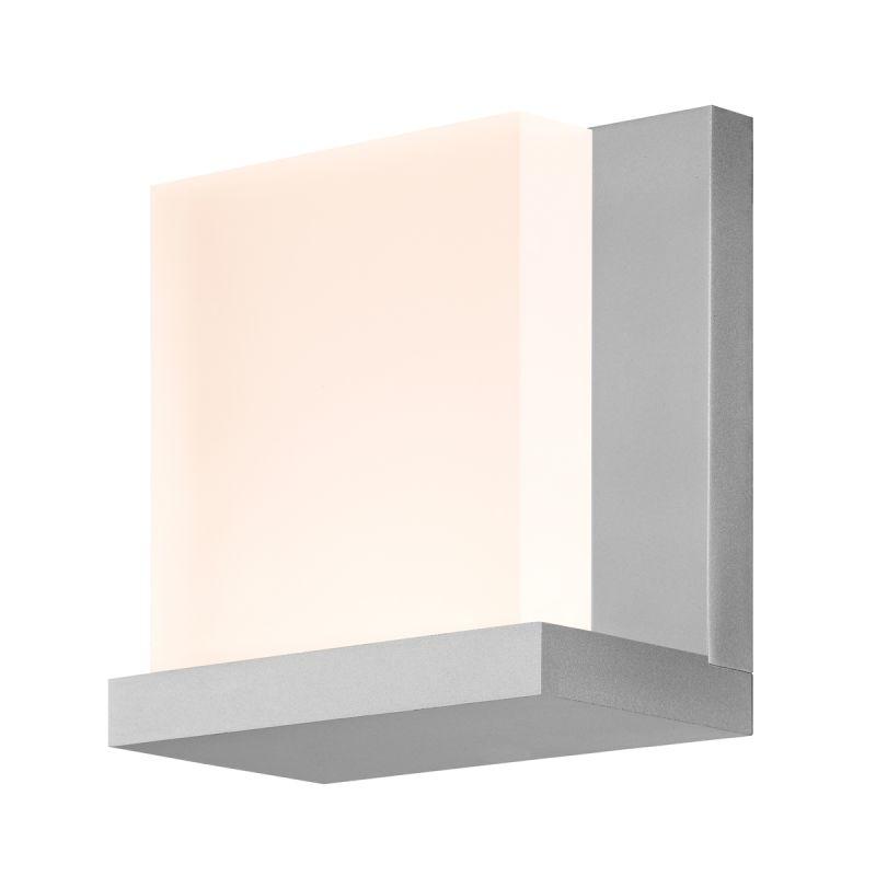 Sonneman 2350.16 Bright Satin Aluminum Contemporary Glow Wall Sconce