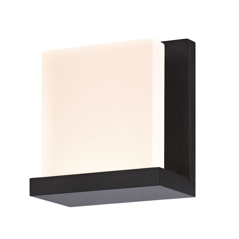 Sonneman 2350.25 Satin Black Contemporary Glow Wall Sconce