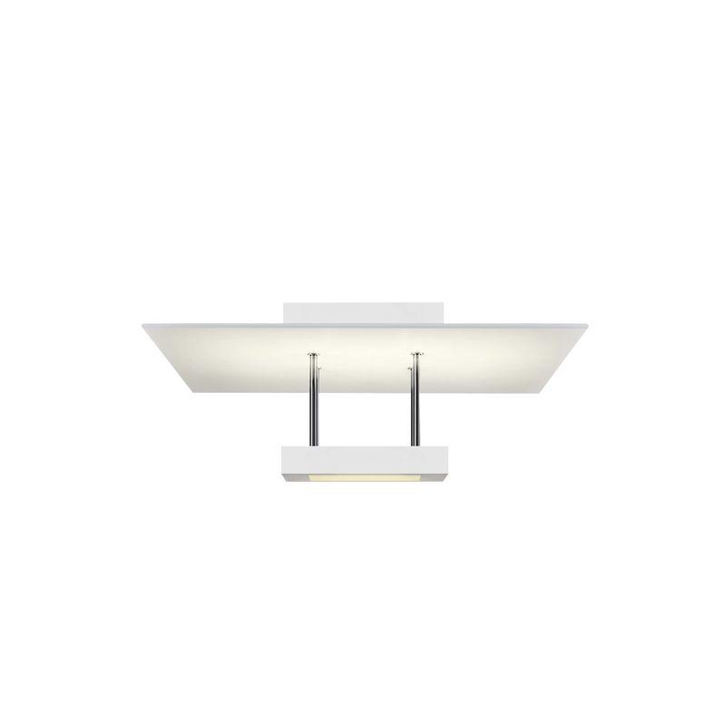Sonneman 2408 Chromaglo Bright White LED Semi-Flush Ceiling Fixture