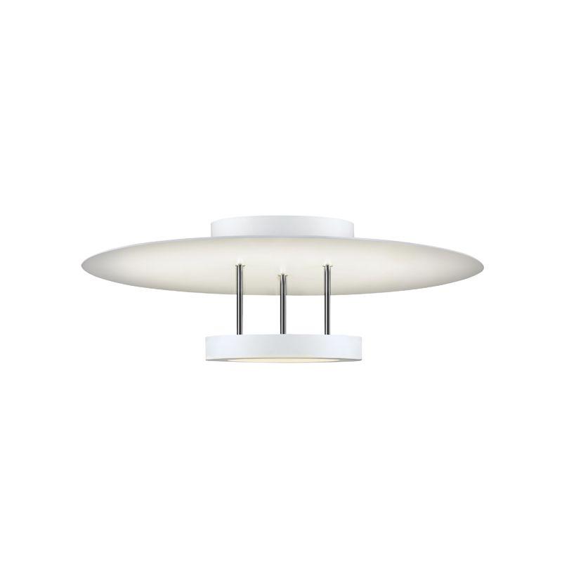 Sonneman 2409 Chromaglo Bright White LED Semi-Flush Ceiling Fixture