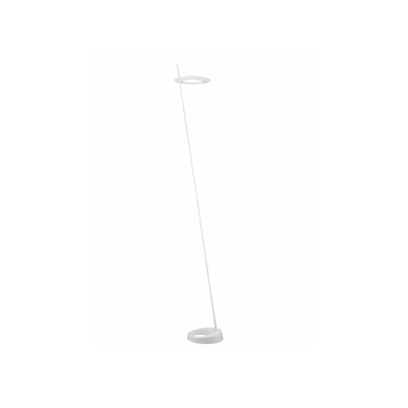 Sonneman 2415 Ringlo 1 Light LED Floor Lamp Satin White Lamps Floor Sale $950.00 ITEM: bci2406306 ID#:2415.03 UPC: 872681054623 :