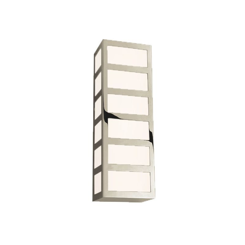 Sonneman 2511 Capital 1 Light ADA Compliant LED Wall Sconce with Glass