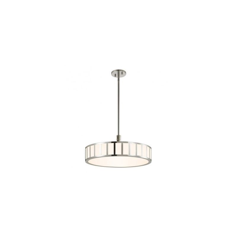 Sonneman 2520 Capital 1 Light LED Pendant Polished Nickel Indoor Sale $950.00 ITEM: bci2406114 ID#:2520.35 UPC: 872681055019 :