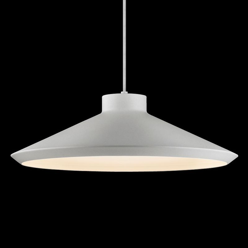 Sonneman 2754 Edo 1 Light LED Pendant Bright Satin Aluminum Indoor Sale $500.00 ITEM: bci2655460 ID#:2754.16-G UPC: 872681062383 :