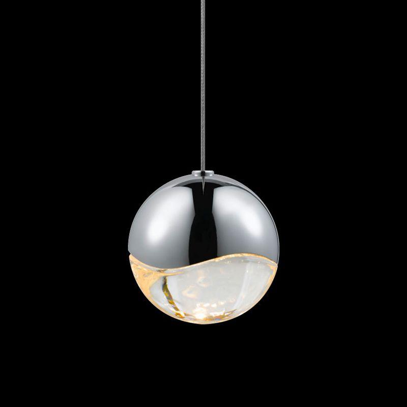 Sonneman 2911-MED Grapes 1 Light LED Pendant Polished Chrome Indoor Sale $320.00 ITEM: bci2655370 ID#:2911.01-MED UPC: 872681062680 :