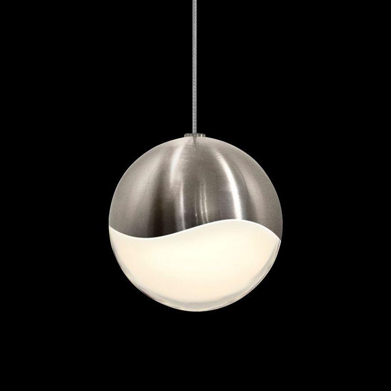 Sonneman 2911-LRG Grapes 1 Light LED Pendant Satin Nickel Indoor Sale $340.00 ITEM: bci2655372 ID#:2911.13-LRG UPC: 872681062703 :