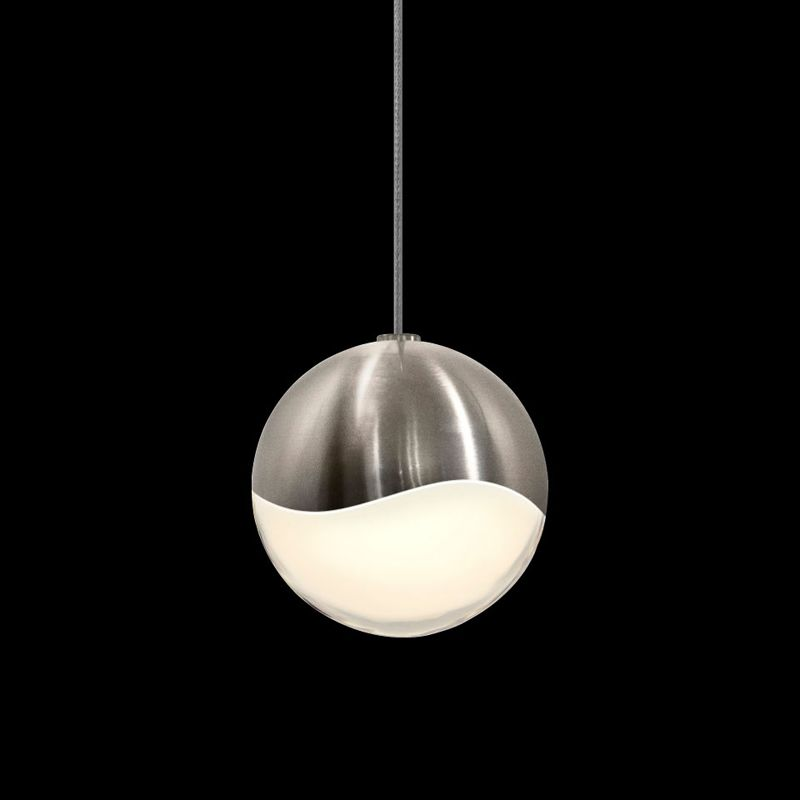Sonneman 2912-MED Grapes 1 Light LED Pendant Satin Nickel Indoor Sale $310.00 ITEM: bci2655379 ID#:2912.13-MED UPC: 872681062772 :