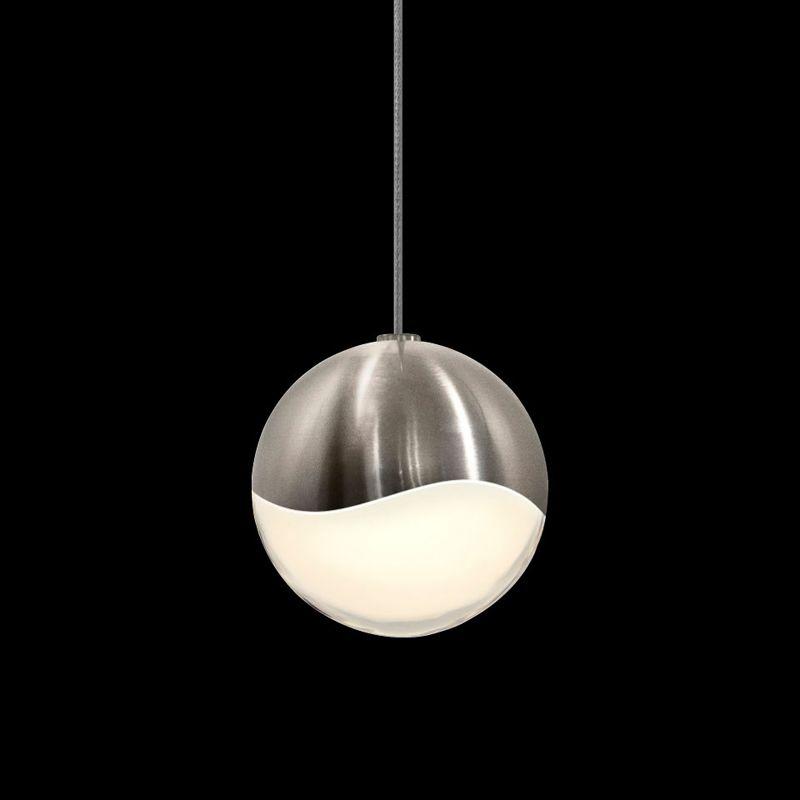Sonneman 2912-MED Grapes 1 Light LED Pendant Satin Nickel Indoor Sale $310.00 ITEM: bci2655379 ID#:2912.13-MED UPC: 872681062772 :